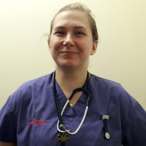 Esther Purkiss, deputy head nurse at YourVets