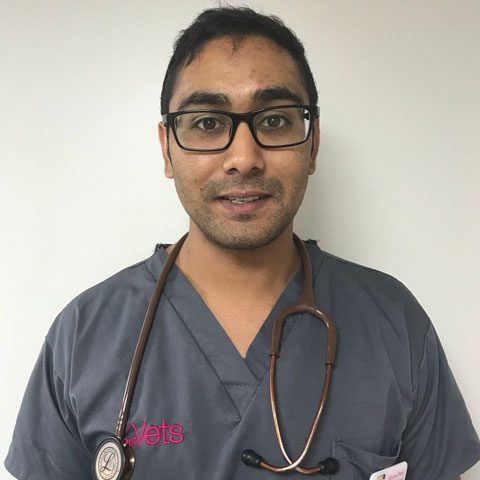 Kieran Patel, vet at YourVets
