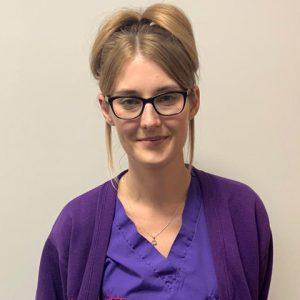 Siobhann Ballard, student veterinary nurse at YourVets