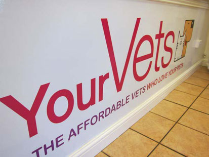 YourVets sign